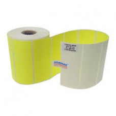 Etiqueta Amarelo Fluor Adesiva
